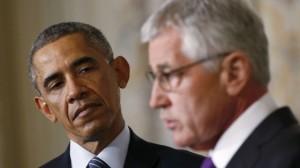 Obama e Hagel