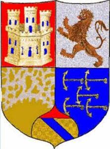 Da notare nello stemma di Chio che il castello rappresentato è identico al castello che figura nel primo quarto dello stemma di Cristoforo Colombo.