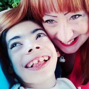 Gabriele e la mamma Margherita Bravo
