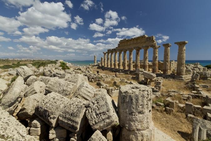 Parco Archeologico di Selinunte - tempio_C